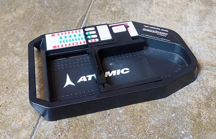 Con este aparato, en nuestras tiendas Barrabes calcularemos tu talla exacta para tu bota de esquí