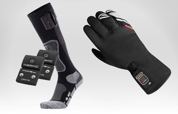 Calcetines, guantes, plantillas...material con calefacción para el frío