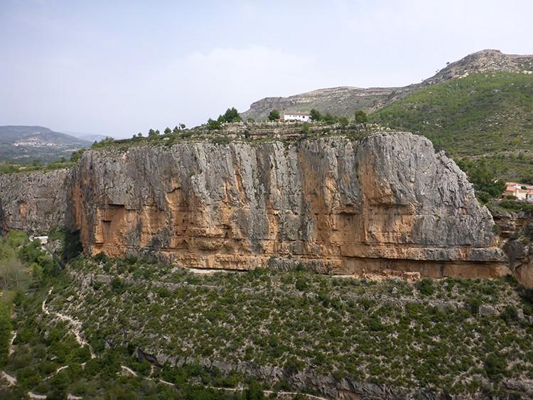 La Pared del Refu, Chulilla. Foto: Pelut/Pastor