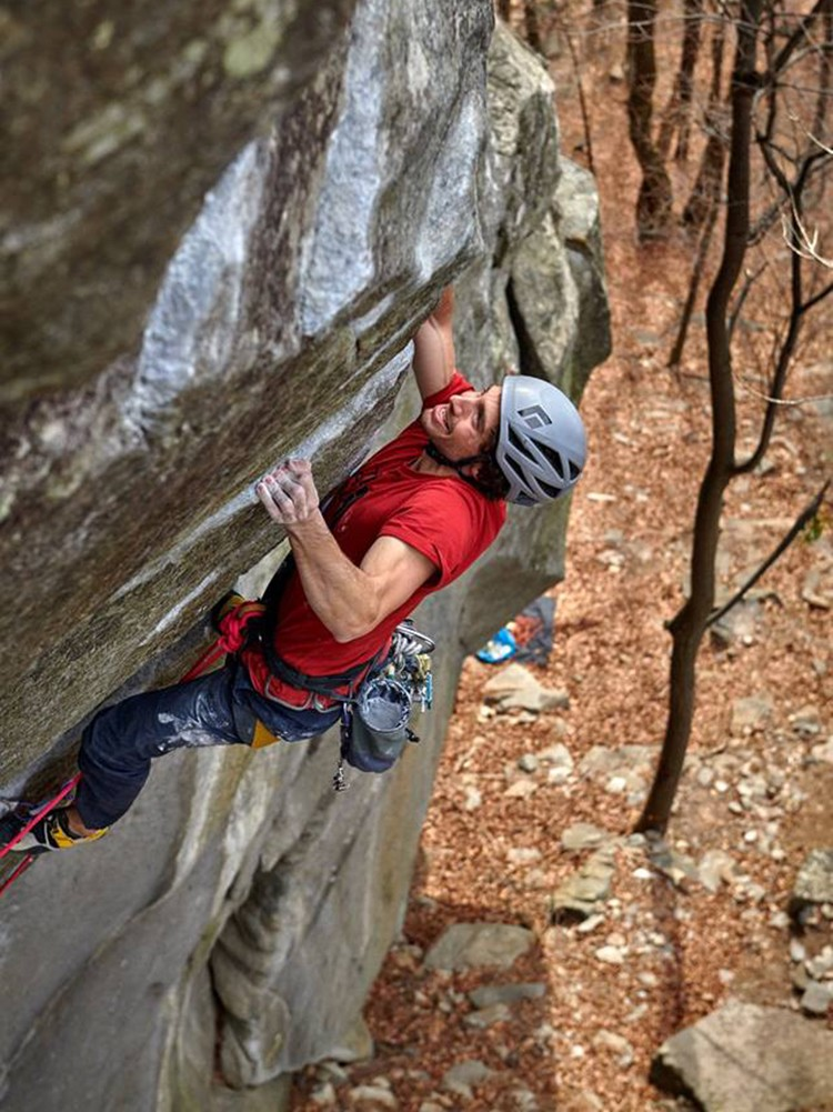 Jacopo Larcher en Tribe. Foto: Paolo Sartori, The North Face