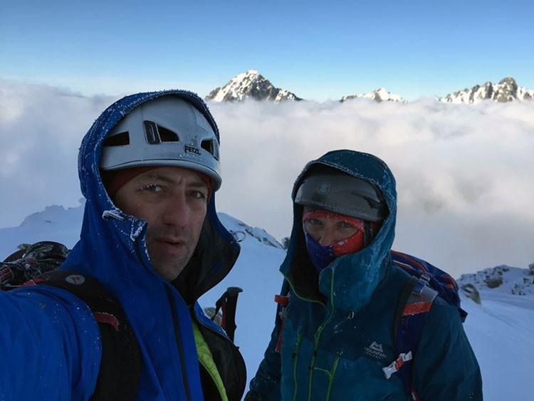 Horia Colibasanu y Peter Hámor, de nuevo juntos al Himalaya. Foto: Horia Colibasanu