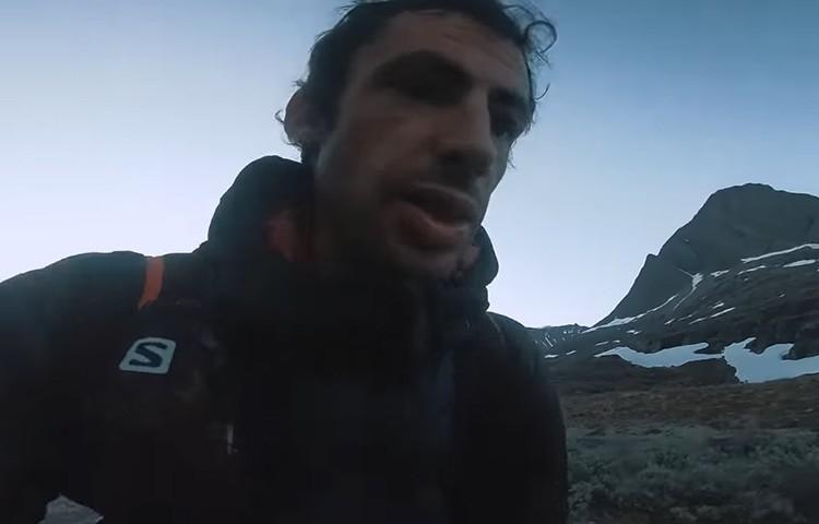 Kilian Jornet, 165km a través de los fiordos noruegos de casa
