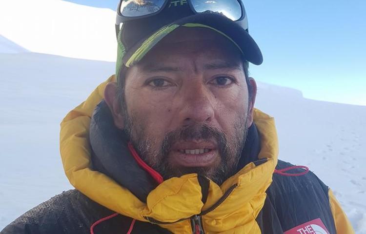 Fallece el montañero peruano Richard Hidalgo. Foto: Facebook Richard Hidalgo