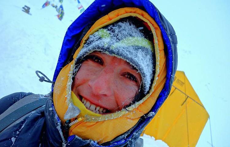 Elisabeth Revol, cima sin oxígeno en Everest y Lhotse. Foto: Elisabeth Revol