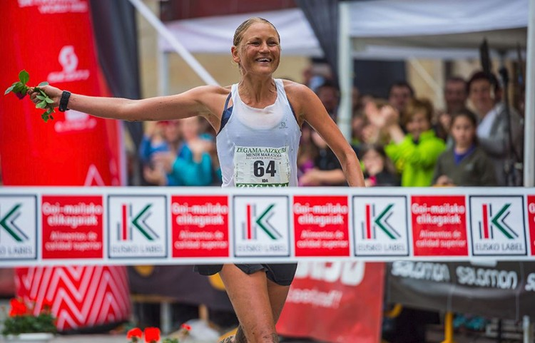Ida Nilsson, vencedora del año pasado. / foto: Aritz Gordo