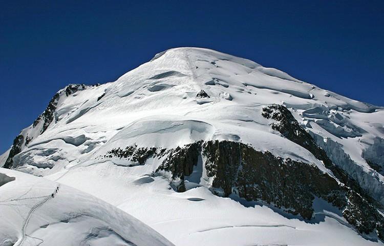 El Mur de la Côte, Momt Blanc. Foto: Jonás Cruces, Todovertical V+