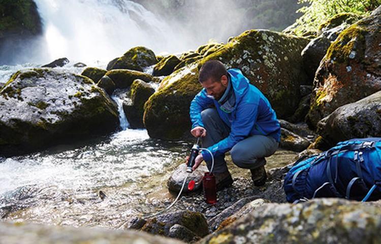 Agua buena en la montaña, fundamental. Foto: Katadyn