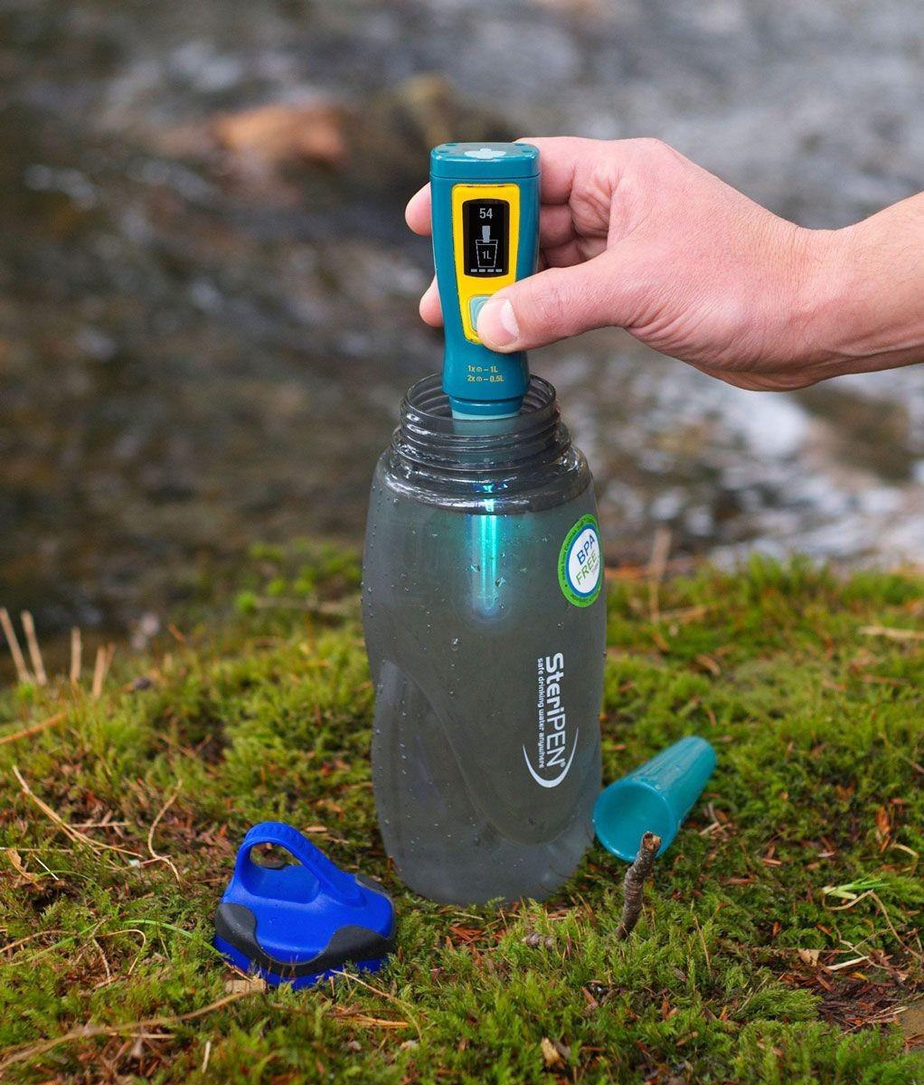 Potabilizando agua con el Steripen, por Ultravioletas