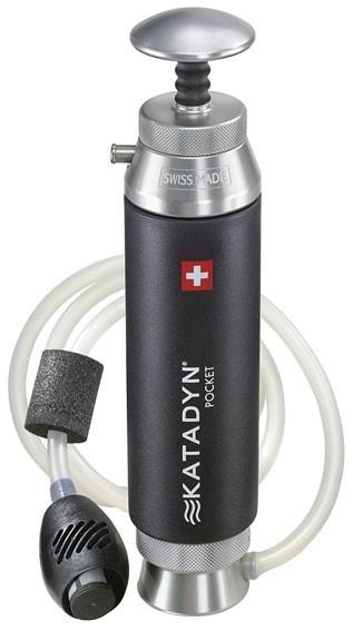 Katadyn Pocket, excelente, muy ligero y pequeño sistema de potabilización