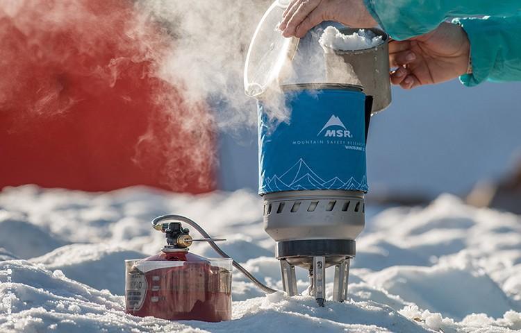 Cocina de montaña, algo fundamental. Foto: MSR Equipment