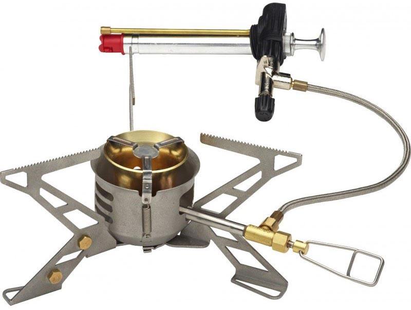 Primus Omnifuel II, hornillo multicombustible, para situaciones difíciles o lugares sin gas