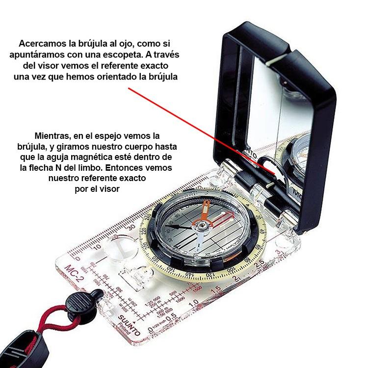 Brújula de mapa con espejo Suunto MC-2 D/L