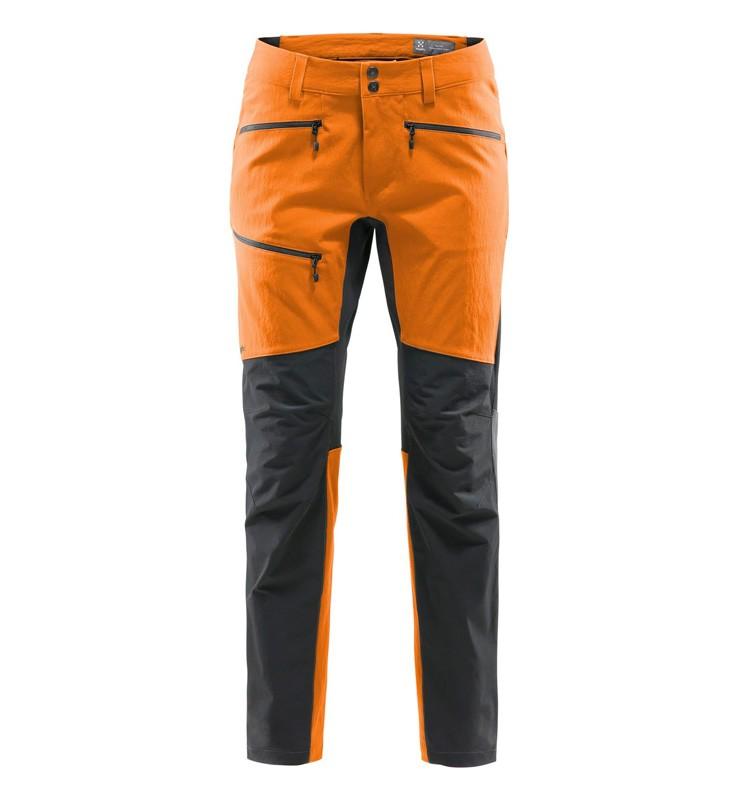 Haglöfs Rugged Flex Pant, pantalón softshell de trekking-alpinismo.