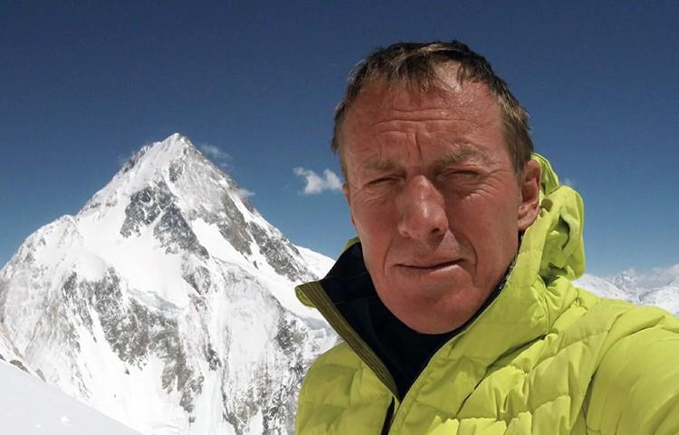 Denis Urubko, apertura de Luna de Miel en Gasherbrum II. Foto: Denis Urubko Blog