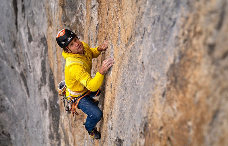 Roger Schaeli, 50 escaladas en la norte del Eiger. Foto: Nicolas Hojac