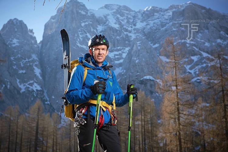 Davo Karnicar, en 2017 en el K2. Foto: Tomo Jesenicnik , FB Davo Karnicar