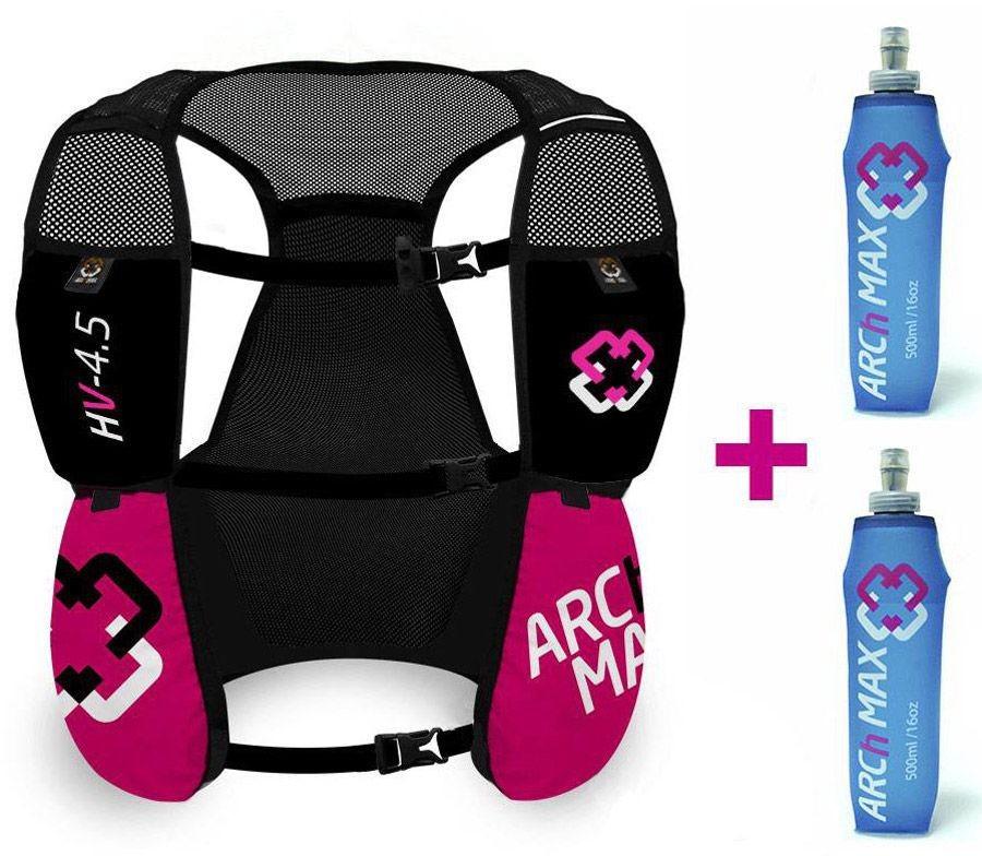 Arch Max Hydration Vest 4.5L, chaleco de hidratación para mujer