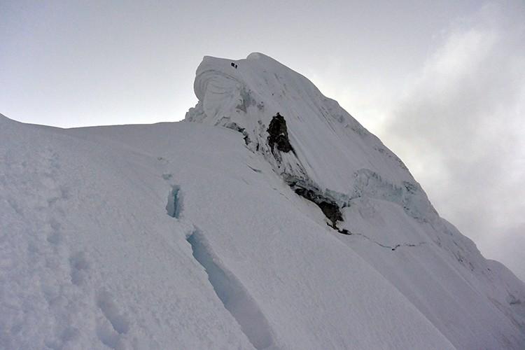 Durante el descenso: Foto: Nathan Heald