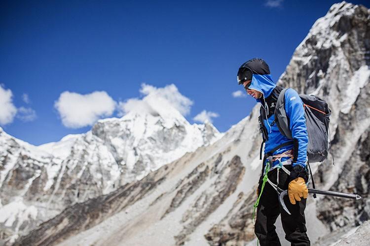 Kilian Jornet en el Everest. Foto: Kilian Jornet