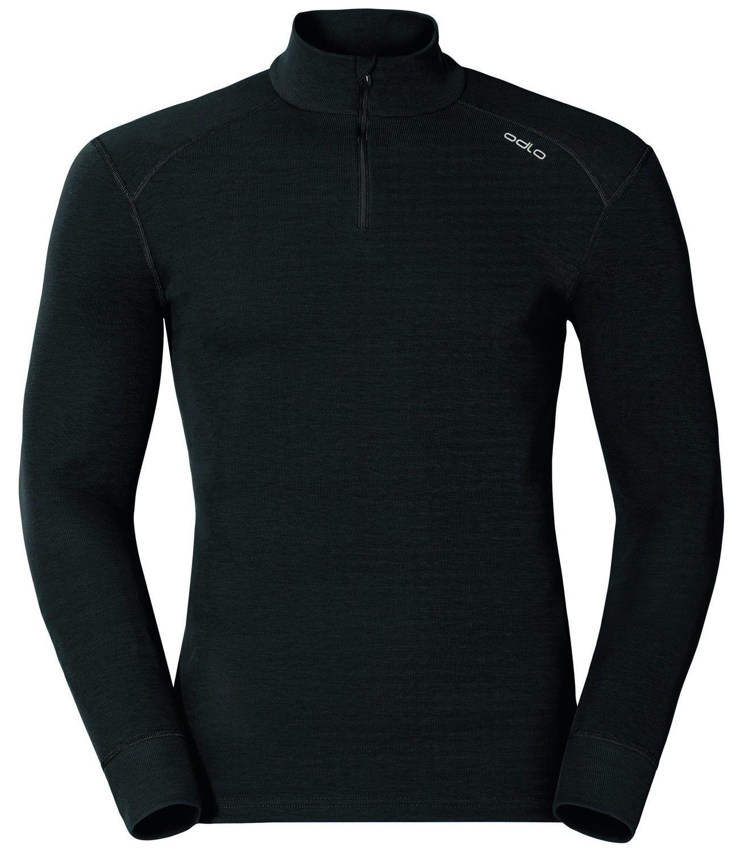 Odlo Warm Shirt LS Neck, 1ª capa sintética para invierno