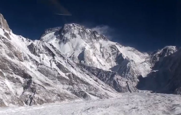El Broad Peak, objetivo invernal de Denis Urubko y Don Bowie. Foto: Denis Urubko