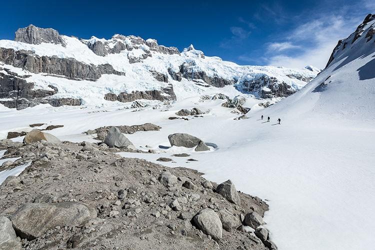 Hacia el Cerro Largo. Foto: Klaus Flenger
