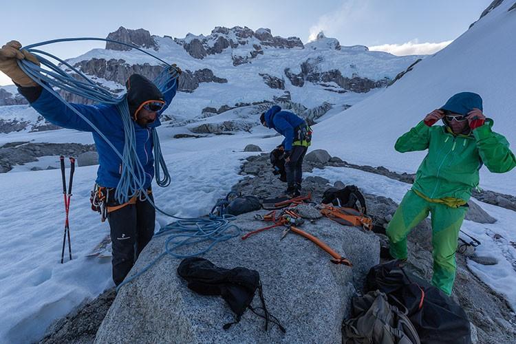 Llega la escalada. Foto: Klaus Flenger
