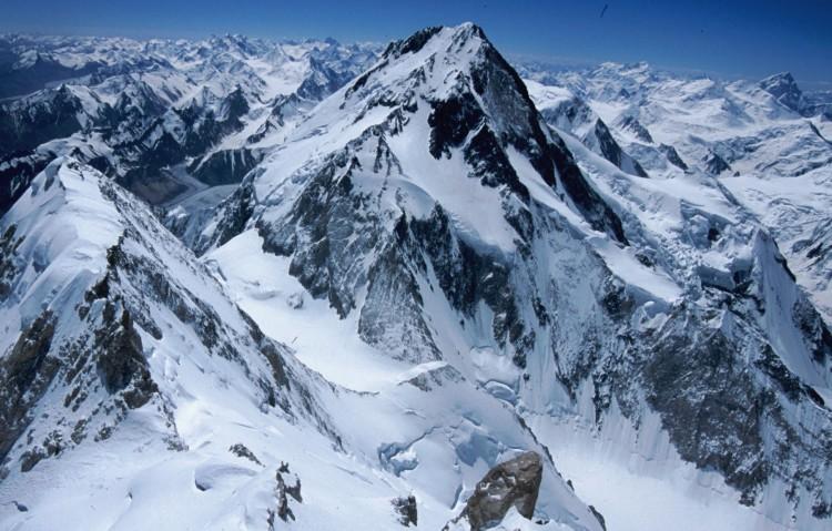 Los Gasherbrum, objetivo para Tamara Lunger y Simone Moro. Foto: FB Simone Moro