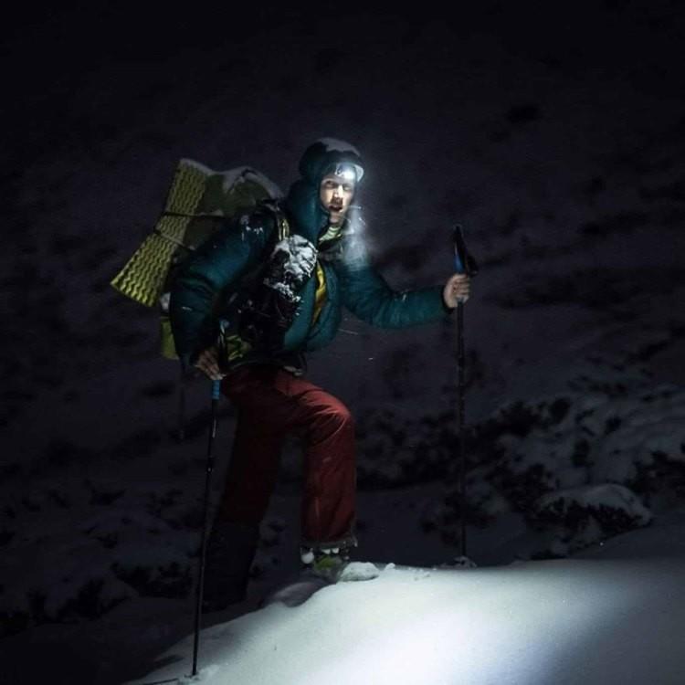 Jost Kobusch, listo para su atque a Everest. Foto: FB Jost Kobusch