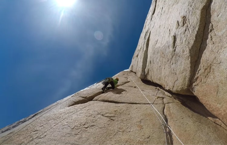 I Ragni di Lecco, de nuevo en el Cerro Torre. Foto: Della Bordella-Pasqueto