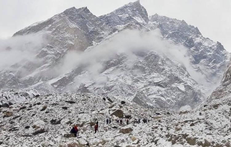Aproximación al Batura Sar. Foto: Polski Himalaizm Zimowy