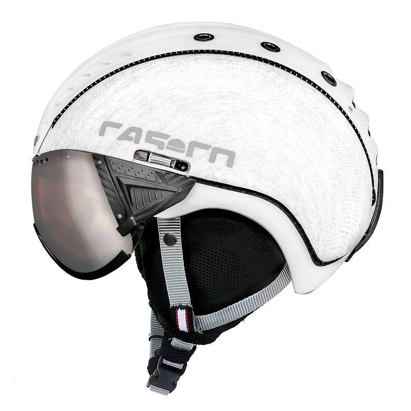 SP-2 Snow Visor, de la marca Casco, con máscara integrada