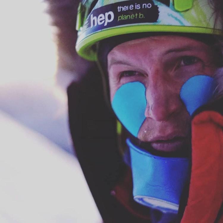Jost Kobusch continúa su avance en Everest. Foto: Jost Kobusch