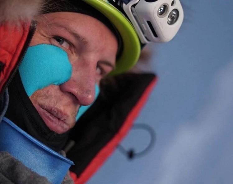 Jost Kobusch alcanza los 7.350m en Everest. Foto: Jost Kobusch