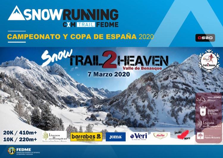 Snow Trail2Heaven, Llanos del Hospital