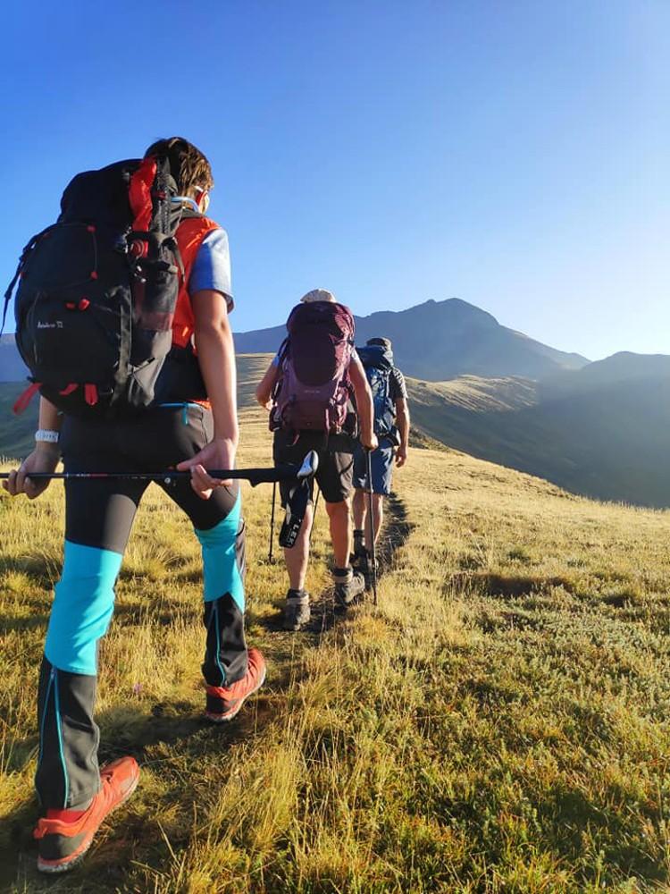 Guía en el Medio Natural, nueva titulación. Foto: Chemari Carrera, maspirineo escuela esquí-montaña