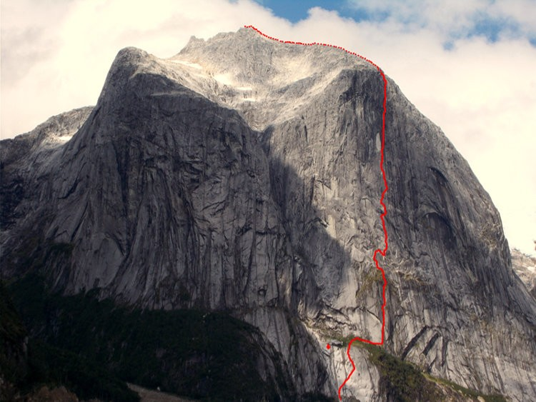 Sincronia Màgica, apertura en Cerro Chileno, Patagonia, Sílvia Vidal