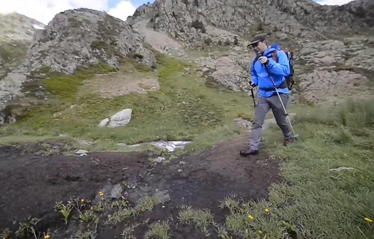 Actividades de montaña durante fase 1. Foto: Barrabes
