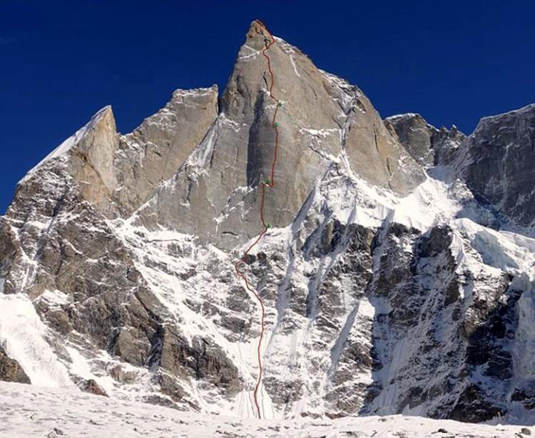 Har Har Mahadev, cerro Kishtwar. Foto: Huber, Siegrist y Zanker