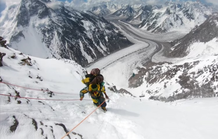 K2 breathtaking. Foto: Eddie Bauer