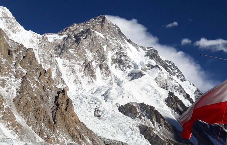 Anterior expedición al K2 invernal por el equipo polaco. Foto: R.Fronia, K2 Polish Expedition