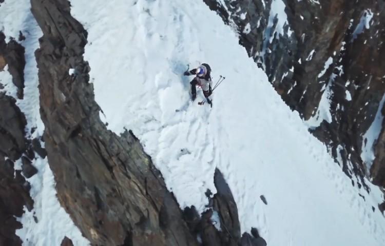 Andrzej Bargiel, descenso del K2 con esquís. Foto: Bartek Bargiel, Redbull Content Pool
