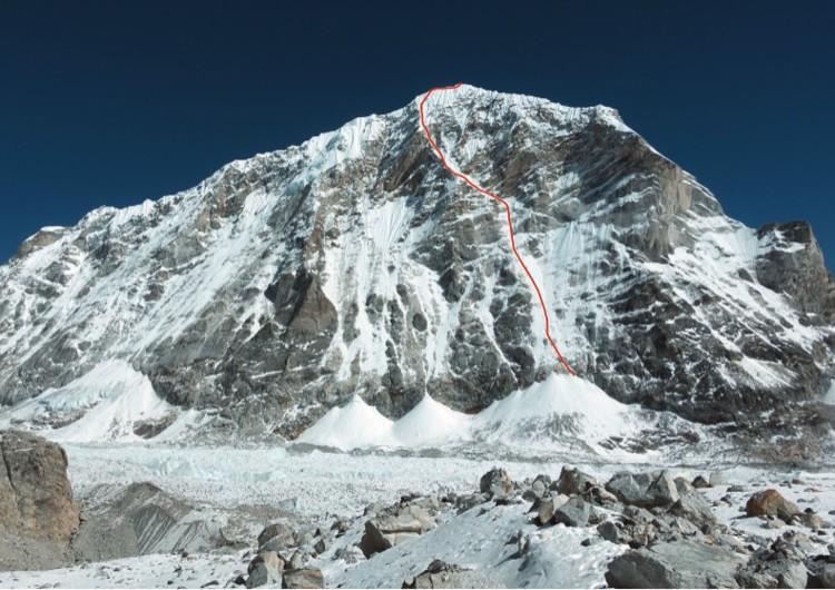 Tengi Ragi Tau, 6. 938m. Foto: Tino Villanueva, American Alpine Journal