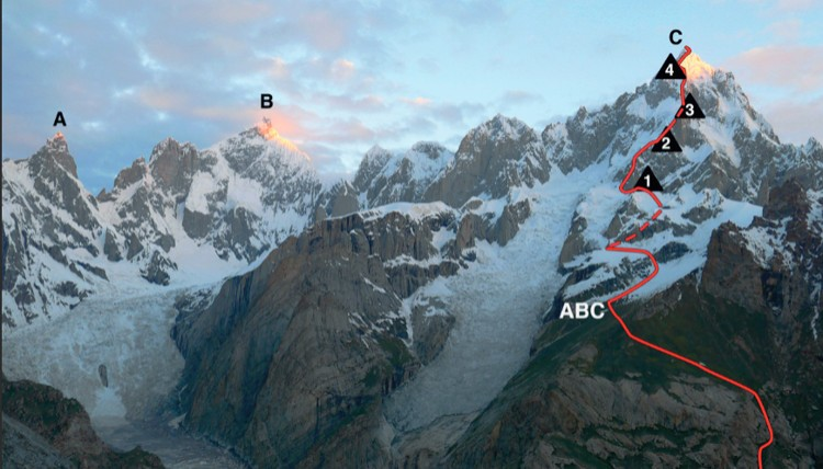 Link Sar. Foto: Matteo de la Bordella, American Alpine Journal