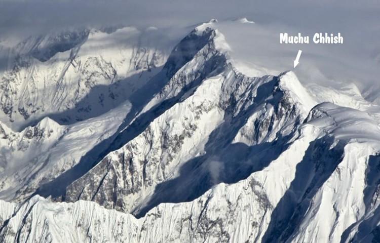 Muchu Chhish. Foto: FB expedición Muchu Chhish Czech 2020 expedition