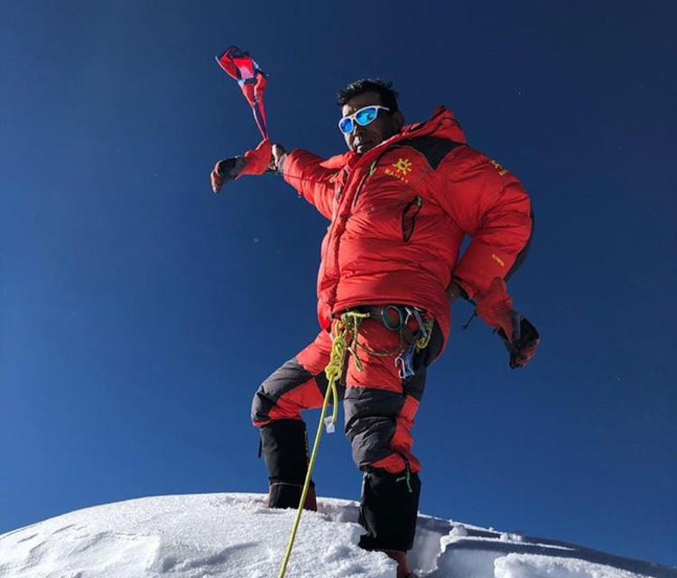Fallece a los 40 años Chhiji Nurbu Sherpa. Foto: Chhiji Nurbu Sherpa