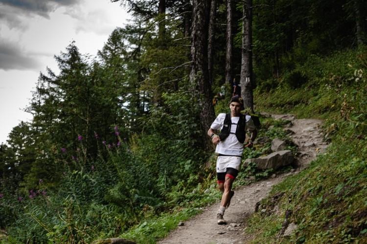 Pau Capell, Ultra Trail Mont Blanc en solitario. Foto: James Poole, The North Face