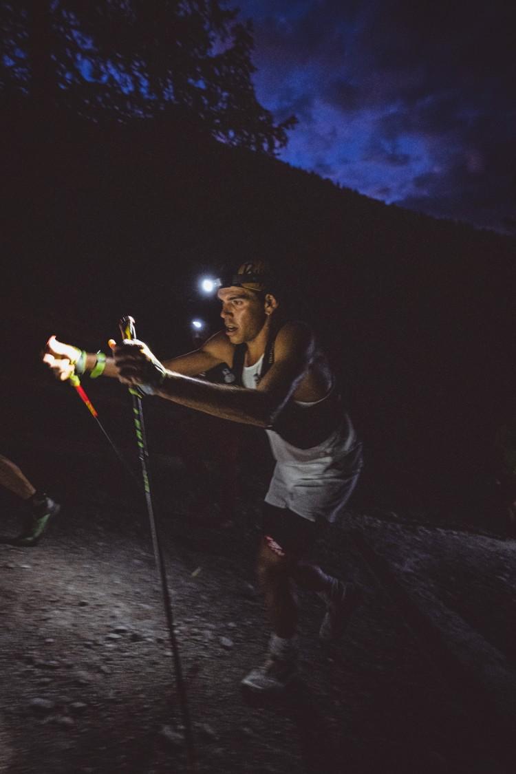 Pau Capell, Ultra Trail Mont Blanc en solitario. Foto: Mathis Dus, The North Face