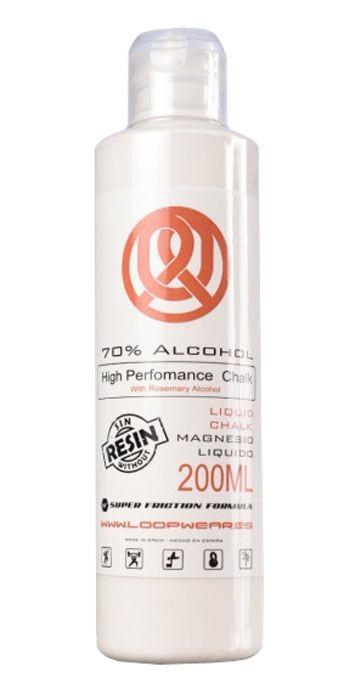 Magnesio líquido Loopwear Liquid Chalk 70 por ciento alcohol