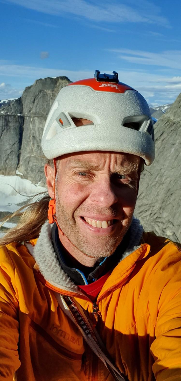 Robert Jasper en Stetind, Noruega. Foto: Rober Jasper